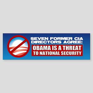 Seven CIA Directors Bumper Sticker