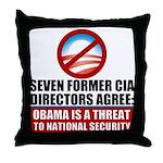 Seven CIA Directors Throw Pillow