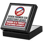 Seven CIA Directors Keepsake Box