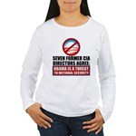 Seven CIA Directors Women's Long Sleeve T-Shirt