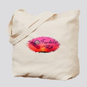 Trucker's Wife Sunset Tote Bag