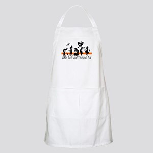 WITCHES BBQ Apron