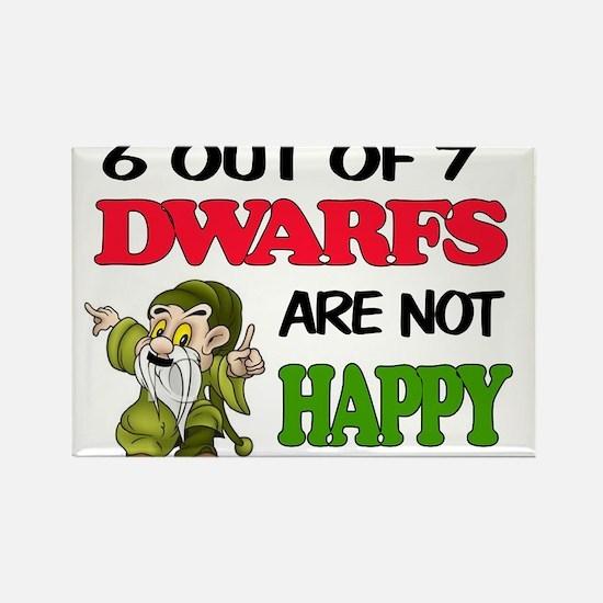 HAPPY DWARF Magnets