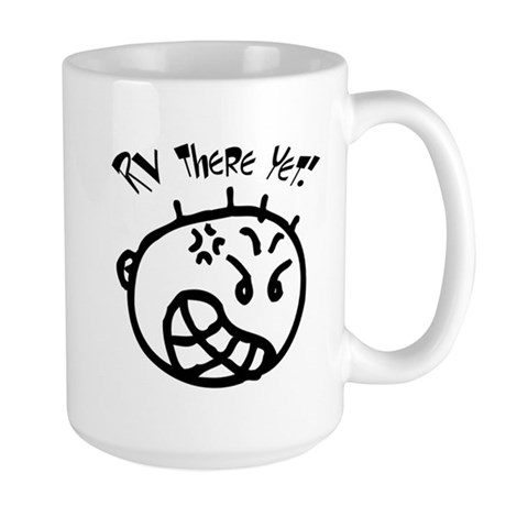 RV There Yet - Buster Large Mug