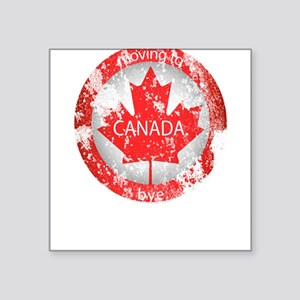 Moving to Canada Sticker