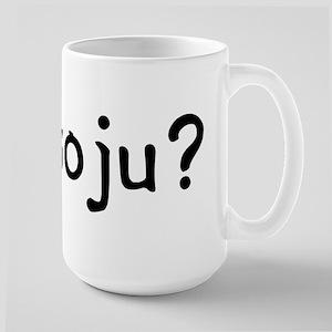 got soju? Large Mug