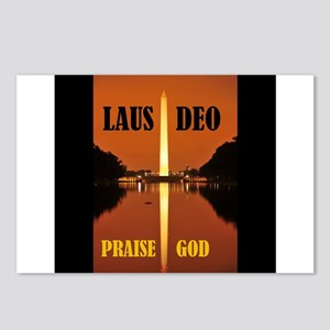 PRAISE GOD ! - Postcards (Package of 8)