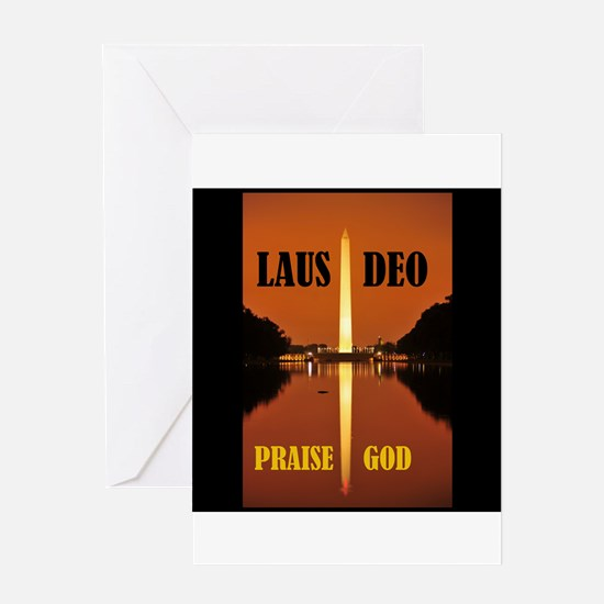 PRAISE GOD ! - Greeting Card