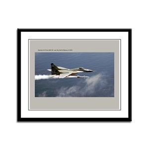 MiG-29 Framed Panel Print