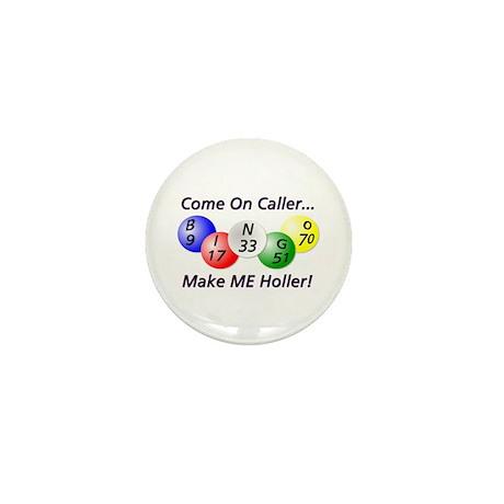 Come on Caller! Bingo! Mini Button