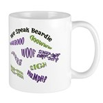 We Speak Beardies Mug