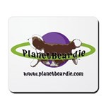 PlanetBeardie Brown Beardie L Mousepad