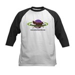 PlanetBeardie Brown Beardie L Kids Baseball Jersey