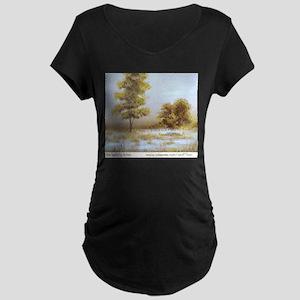 Far Land Maternity Dark T-Shirt