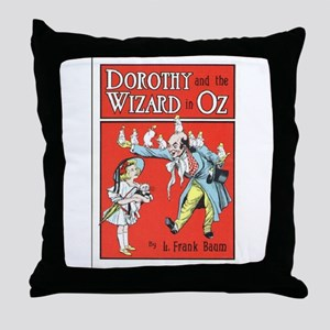 Dorothy & the Wizard of Oz Throw Pillow
