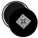 """Black & White 2.25"""" Magnet (10 pack)"""