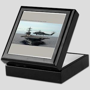 CVN 77 USS George H.W. Bush Keepsake Box