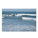 waves with Bible versePostcards (Package of 8)