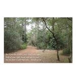 woodland with verse Postcards (Package of 8)