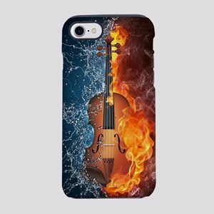 Fire and Water Violin iPhone 7 Tough Case