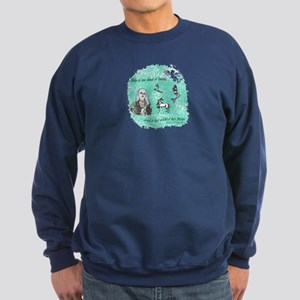 Too Fond of Books Sweatshirt (dark)