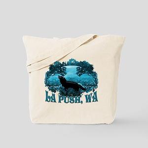 La Push Wolf in Nature Tote Bag