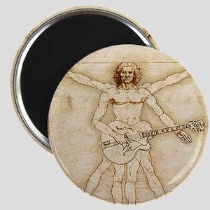 "The Vitruvian Rock God Range 2.25"" Magnet (10 pac"