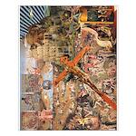 Caterer Comic Bosch/Bruegel Splash Poster