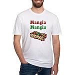 Mangia Mangia Italian Fitted T-Shirt