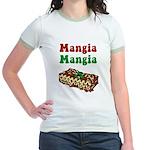 Mangia Mangia Italian Jr. Ringer T-Shirt