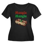 Mangia Mangia Italian Women's Plus Size Scoop Neck