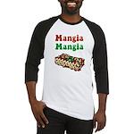 Mangia Mangia Italian Baseball Jersey