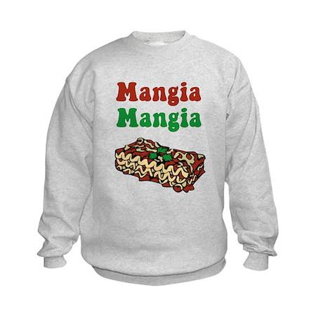 Mangia Mangia Italian Kids Sweatshirt