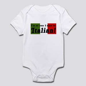 Cute Italian Infant Bodysuit