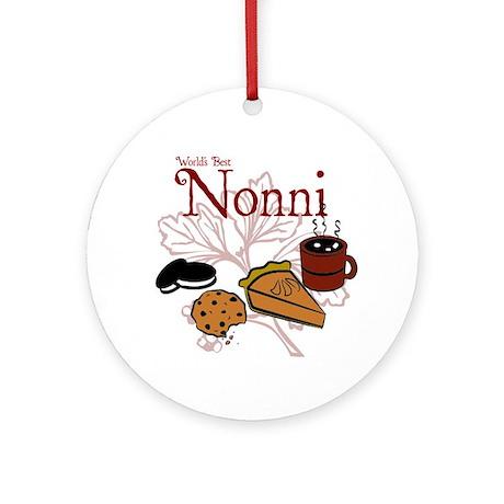 Nonni Ornament (Round)