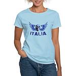 Italy Blue Skull Women's Light T-Shirt