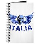 Italy Blue Skull Journal