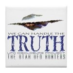 UFO Disclosure Project TRUTH Tile Coaster
