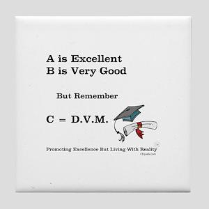 C=DVM Tile Coaster