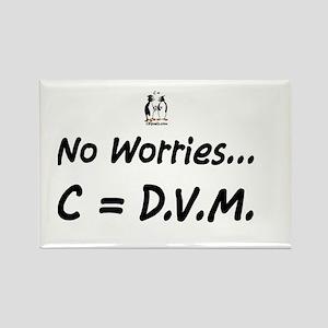 No worries C= DVM Rectangle Magnet