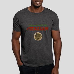 Nobody Cooks Like an Italian Dark T-Shirt