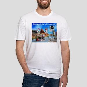 Roadside America Fitted T-Shirt