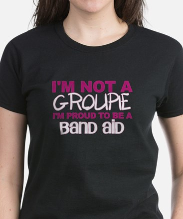 Proud to be a Band Aid tee