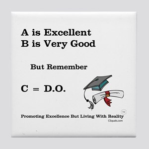 C=DO That's all that counts! Tile Coaster