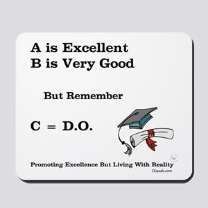 C=DO That's all that counts! Mousepad