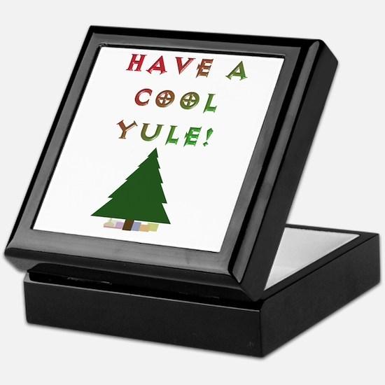 Cool Yule Keepsake Box
