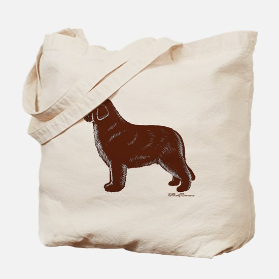 Newfoundland (Brown) Tote Bag