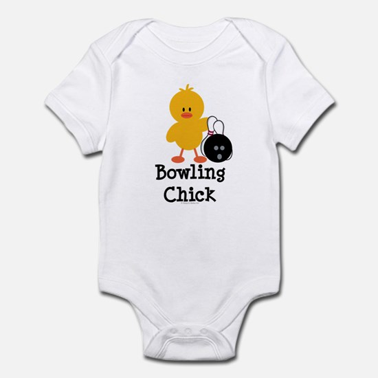 Bowling Chick Infant Bodysuit