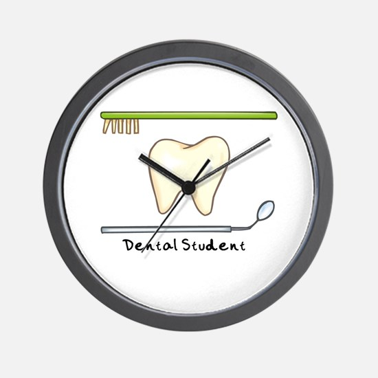 I am a dental student Wall Clock