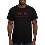 DDD Bite Me Men's Fitted T-Shirt (dark)
